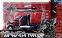 Transformers Movie The Best (Takara) MB-20 Nemesis Prime (AoE)