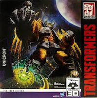 Transformers Generations Unicron - Platinum Edition