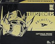 Transformers Generations Primitive Optimus Prime w/ Shreddicus Maximus
