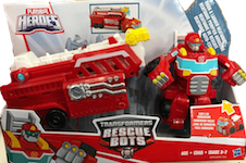 Rescue Bots Hook and Ladder Heatwave