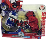 Transformers Robots In Disguise (2015-) Optimus Prime & Strongarm (Combiner Force)