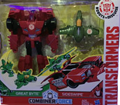 Transformers Robots In Disguise (2015-) Sideswipe and Great Byte