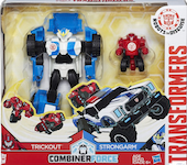 Transformers Robots In Disguise (2015-) Strongarm and Trickout