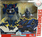 Transformers Robots In Disguise (2015-) Soundwave w/ Laserbeak (Activator Combiners)