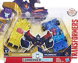 Transformers Robots In Disguise (2015-) Dragstrip and Wildbreak (Crash Combiners)