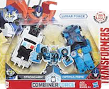 Robots In Disguise / RID (2015-) Lunar Force Strongarm w/ Optimus Prime (Crash Combiners)