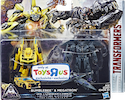 Movie TLK Legion Bumblebee & Megatron Mission To Cybertron - 2-pk TRU Excl