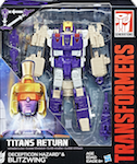 Transformers Generations Blitzwing w/ Hazard