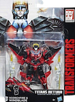 Transformers Generations Windblade with Titanmaster