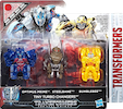 Transformers 5 The Last Knight Optimus Prime, Bumblebee, Steelbane - TLK Tiny Turbo Changers 3-pk