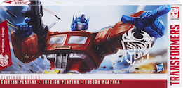 Transformers Generations Optimus Prime Platinum Year of the Rooster