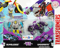 Robots In Disguise / RID (2015-) Bumblebee vs Underbite (Legion 2-pack, Toys R Us exclusive)