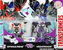 Robots In Disguise / RID (2015-) Optimus Prime vs Megatronus (Legion 2-pack, Toys R Us exclusive)