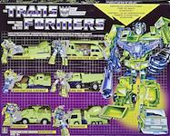 TF Vintage (Walmart exclusive) Devastator - Vintage G1 Reissue: Bonecrusher, Hook, Scavenger, Long Haul, Scrapper, Mixmaster