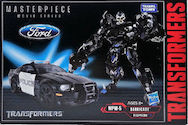 Masterpiece Movie Series MPM-5 Barricade Movie Masterpiece