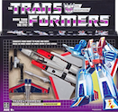 Transformers Vintage (Walmart exclusive) Starscream (G1 reissue) w/ Megatron gun accessory