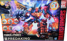 Transformers Generations Predaking (Razorclaw, Rampage, Divebomb, Tantrum & Headstrong)
