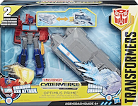 Transformers Cyberverse Optimus Prime Battle Base Trailer