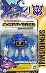 Cyberverse Soundwave (Laserbeak Blast Warrior)