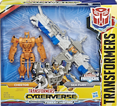 Transformers Cyberverse Cheetor Sea Fury (Spark Armor Elite)