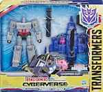 Transformers Cyberverse Megatron Chopper Cut