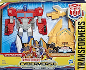 Transformers Cyberverse Optimus Prime Ark Power
