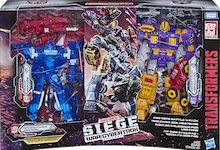 Transformers Generations Fan Vote 3-Pack Holo Mirage, Powerdasher Aragon, Decepticon Impactor