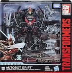 Transformers Studio Series 36 Autobot Drift (TLK) w/ Mini-Dinobots