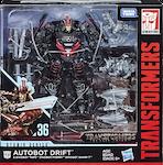 Studio Series 36 Autobot Drift (TLK) w/ Mini-Dinobots