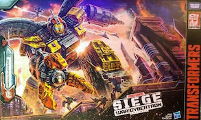 Transformers Generations Omega Supreme w/ Micromaster Countdown