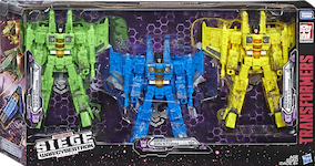 Transformers Generations Seekers 3-Pack w/ Acid Storm, Ion Storm, Nova Storm