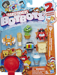 Transformers Bot Bots Greaser Gang 8-pk (1) w/ Sticky McGee, Batsby, Venus Frogtrap, Fottle Barts, Goob Tube, Angry Cheese, Sippy Slurps, Clogstopper