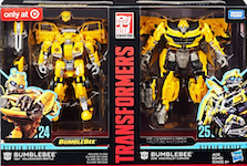 Transformers Studio Series 24 & 25 Bumblebee Then & Now (Target Exclusive)
