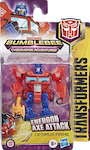 Transformers Cyberverse (2018-) Energon Axe Attack Optimus Prime (Scout)