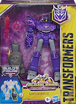 Transformers Cyberverse (2018-) Shockwave, Deluxe w/ Build-A-Figure Maccadam