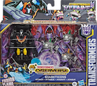 Transformers Cyberverse (2018-) Cybertronian Villains Sharkticons Attack w/ Hot Rod
