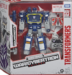 Transformers Generations Soundwave w/ Laserbeak & Ravage (Earthrise, Netflix)