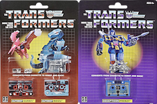 Transformers Vintage (Walmart exclusive) Gurafi, Noizu and Frenzy (Mini-Cassette 3-Pack)
