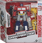 Transformers Generations Optimus Prime w/ Battlemasters: Enerax & Sheeldron (Netflix)
