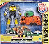 Transformers Cyberverse (2018-) Grimlock & Trash Crash (Spark Armor Elite)