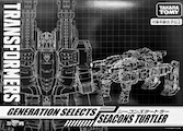 Takara - Generation Selects TT-GS03 Turtler (Seacon, Snaptrap)