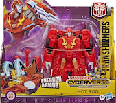 Transformers Cyberverse (2018-) Hot Rod Energon Armor Ultra