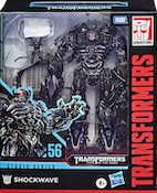 Transformers Studio Series 56 Shockwave w/ Brains & Wheelie