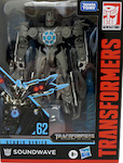 Transformers Studio Series 62 Soundwave (satellite)