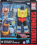 Transformers Studio Series 86 Grimlock w/ Wheelie (1986 TFTM)