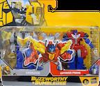 Transformers Generations Grimlock & Optimus Prime (Buzzworthy Bumblebee Crash & Combine)