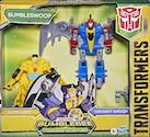 Transformers Cyberverse (2018-) Bumblebee & Dinobot Swoop, Bumbleswoop (Crash & Combine)