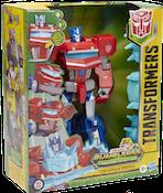 Transformers Cyberverse (2018-) Optimus Prime (Cyberverse Adventures Dinobots Unite Roll N' Change)