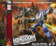 Transformers Generations Autobot Mirage (Earth alt mode) & Maximal Grimlock