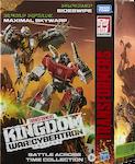Transformers Generations Sideswipe (Earth alt mode) & Maximal Skywarp
